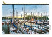Oak Pt Harbor At Sundown Carry-all Pouch