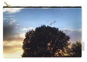 Oak Tree At The Magic Hour Carry-all Pouch