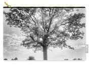 Oak Tree Bw Carry-all Pouch