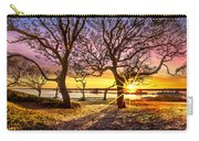 Oak Trees At Sunrise Carry-all Pouch