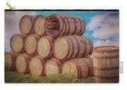 Oak Wine Barrels Carry-all Pouch