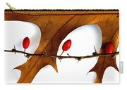 Oak With Berries Carry-all Pouch
