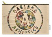 Oakland Athletics Poster Vintage Carry-all Pouch