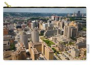 Oakland Pitt Campus With City Of Pittsburgh In The Distance Carry-all Pouch