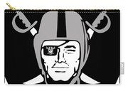 Oakland Raiders Carry-all Pouch by Tony Rubino