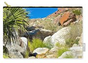 Oasis On Borrego Palm Canyon Trail In Anza-borrego Desert Sp-ca Carry-all Pouch