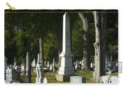 Obelisk And Headstones Carry-all Pouch