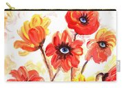 Observant Flowers 101 Carry-all Pouch