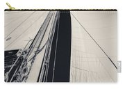 Obsession Sails 2 Black And White Carry-all Pouch