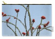 Ocatillo With Red Blossoms Carry-all Pouch