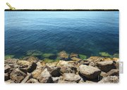 Ocean And Rocks Carry-all Pouch