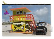 Ocean Rescue Miami Carry-all Pouch