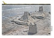 Ocean Sandcastles Carry-all Pouch by Betsy Knapp