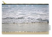Ocean Shore With Sparkling Waves Carry-all Pouch