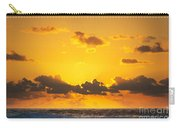 Ocean Sunrise Clouds Carry-all Pouch