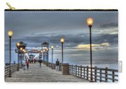 Oceanside Pier At Sunset Carry-all Pouch