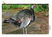 Ocellated Turkey Carry-all Pouch