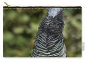 Ocellated Turkey Hen Carry-all Pouch