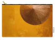 Ochre Wall Conical Hat Carry-all Pouch