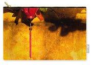 Ochre Wall Silk Lantern 03  Carry-all Pouch