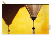 Ochre Wall Silk Lanterns  Carry-all Pouch