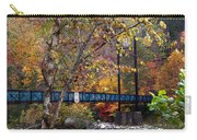 Ocoee River Bridge Carry-all Pouch by Debra and Dave Vanderlaan