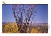 Ocotillo And Palo Verde Carry-all Pouch