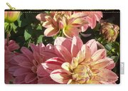 October Dahlia Field Carry-all Pouch