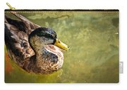 October Duck Carry-all Pouch