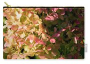 October Hydrangea Carry-all Pouch