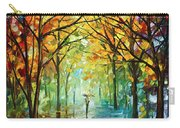 October In The Forest Carry-all Pouch by Leonid Afremov