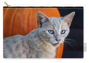 October Kitten #3 Carry-all Pouch