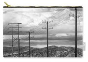 October Road Palm Springs Carry-all Pouch