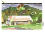 October Shadows At Fort Davidson Carry-all Pouch by Kip DeVore
