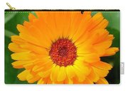 October's Summer Sunlit Marigold  Carry-all Pouch