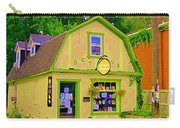 Octopus Bookstore 3rd Ave Bank Street Nepean The Glebe Paintings Of Ottawa Carole Spandau  Carry-all Pouch