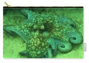 Octopus In The Sand Carry-all Pouch