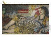 Odalisque Carry-all Pouch by Pierre Auguste Renoir
