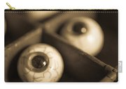 Oddities Fake Eyeballs Carry-all Pouch by Edward Fielding