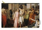 Oedipus And Antigone Or The Plague Of Thebes  Carry-all Pouch