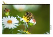 Of Bee And Flower Carry-all Pouch