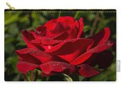 Of Red Roses And Diamonds  Carry-all Pouch