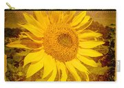 Of Sunflowers Past Carry-all Pouch