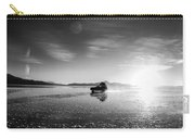 Off Road Uyuni Salt Flat Tour Black And White Carry-all Pouch