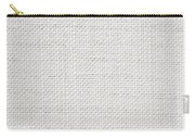 Off White Textile Carry-all Pouch by Tom Gowanlock