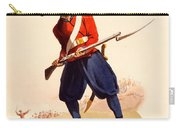 Officer Of European Infantry Of Ottoman Carry-all Pouch by Thomas Charles Wageman