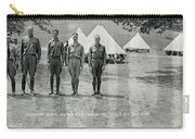 Officers At Camp Newayo, New York State Carry-all Pouch