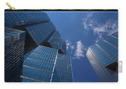 Oh So Blue - Downtown Toronto Skyscrapers Carry-all Pouch
