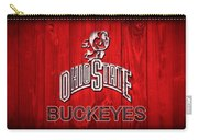 Ohio State Buckeyes Barn Door Vignette Carry-all Pouch
