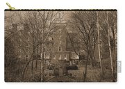 Ohio University Bryan Hall Sepia Carry-all Pouch